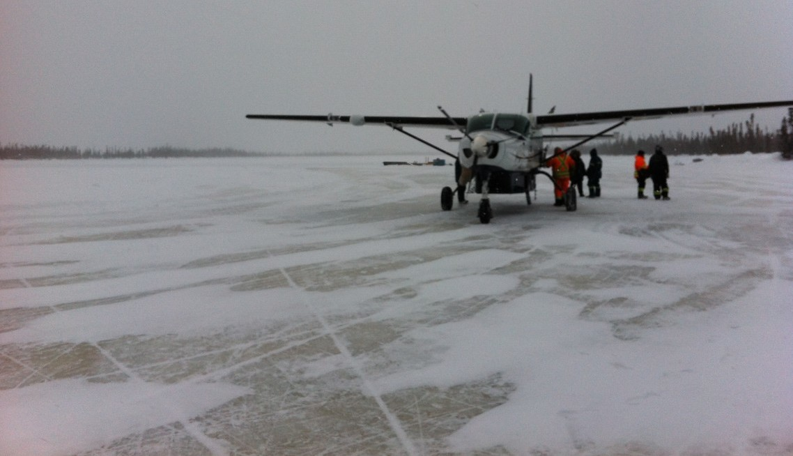 Winter Travel to Remote Client Site – Global Hydration