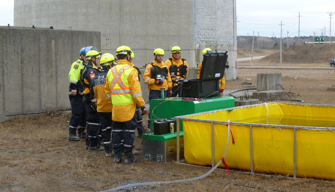 Toronto Fire HUSAR Live Water Purification System Training – Global Hydration